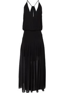 Vestido Cibele Midi (Black, 44)