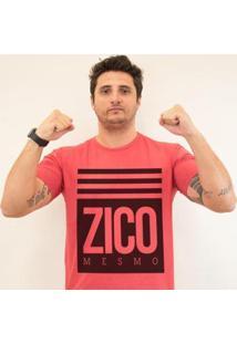Camiseta Zé Carretilha - Fla-Mengao-Zicomesmo Masculina - Masculino