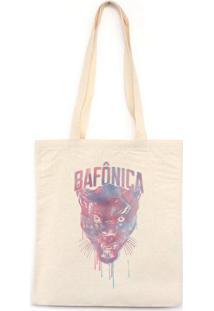 Bafônica - Bolsa De Lona-Off White-U