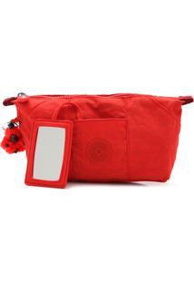 Necessaire Kipling I323816P Active Vermelha