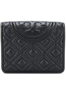 Tory Burch Carteira 'Fleming' - Preto