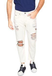 Calça Sarja Forum Skinny Johann Off-White