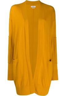 Isabel Marant Étoile Long Cardigan - Amarelo
