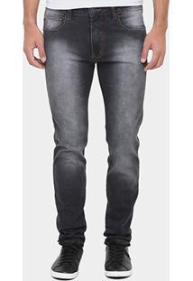 Calça Jeans Triton New Skinny Black Stone - Masculino