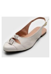 Sapatilha Dafiti Shoes Nós Off-White
