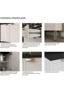 Cozinha Completa 5 Peças Americana Multimóveis 5915 Branco