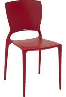 Cadeira Sofia Tramontina 92236040 Vermelha