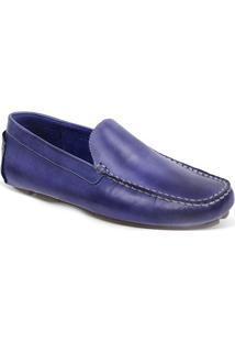 Sapato Masculino Driver Sandro Moscoloni Jordan Azul