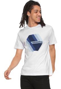 Camiseta Quiksilver Retro Right Branca