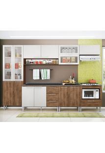 Cozinha Emanuella 0422T 13 Portas C/ Tampo – Genialflex - Demolição / Gelo