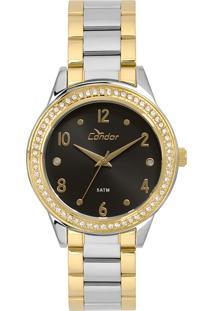 Relógio Condor Feminino Bracelete Bicolor - Co2036Kuj/K5P - Kanui