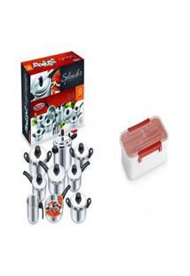Kit Conjunto 9 Panelas + Pote Plástico Para Marmita 780Ml
