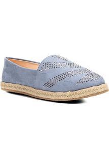 Alpargata Couro Shoestock Hot Fix Feminina