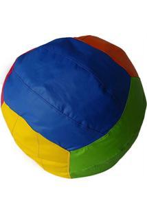 Puff Big Ball Vôlei De Praia Pop Colorido Stay Puff