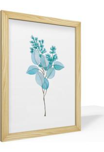 Quadro Pinus Adoraria A4 Desenho Conceitual Abstrato Plantas Natureza Flora