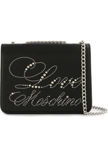 Love Moschino Love Cross Body Bag - Preto