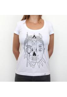 Sobre O Tempo - Camiseta Clássica Feminina