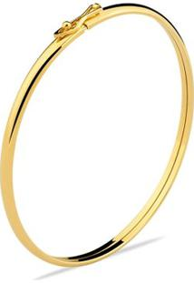 Pulseira Toque De Joia Bracelete Algema Fina - Feminino-Dourado