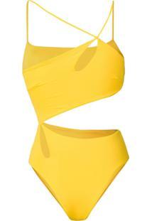 Sian Swimwear Maiô 'Nella' - Amarelo