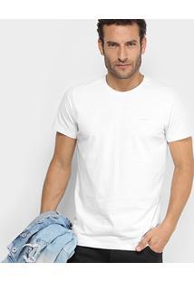 Camiseta Colcci Gola Careca Básica Masculina - Masculino