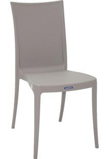 Cadeira Laura Ratan Summa Tramontina 92032210 Cinza