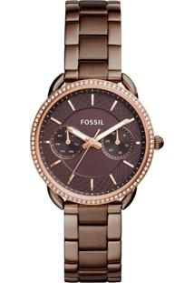 Relógio Fossil Tailor - Es4258/4Mn Marrom
