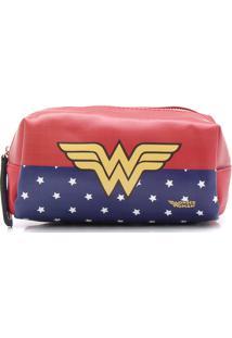 Necessaire Gash Wonder Woman Vermelha