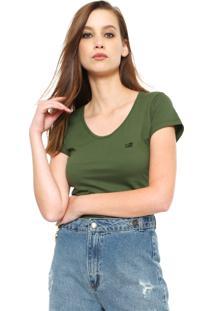 Camiseta Ellus 2Nd Floor Basic Verde