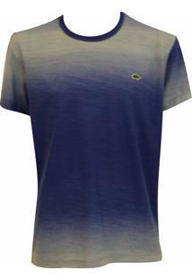 Camiseta Pau A Pique Tie Dye Azul