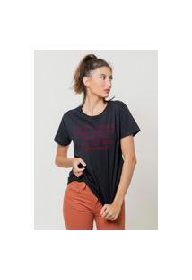 Camiseta Jay Jay Básica Go Ny Preta