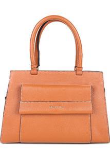Bolsa Dumond Handbag Relax Feminino - Feminino-Caramelo