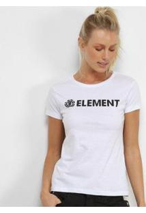 Camiseta Element Horizontal Essential Feminina - Feminino