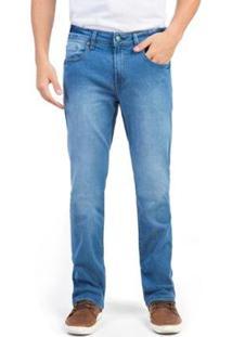 Calça Jeans Taco Comfort Vintage Flex Destroyer Masculina - Masculino