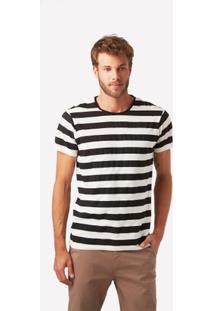 Camiseta Foxton Listrada Lopes Mendes - Masculino