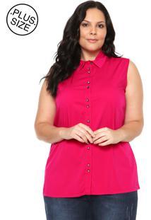 183c3c017d ... Camisa Cativa Plus Size Básica Rosa