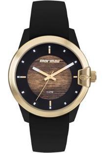 Relógio Mormaii Mo2035Jl/8M Feminino - Feminino-Preto