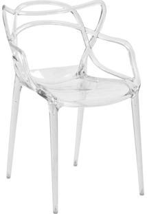 Cadeira Policarbonato Allegra -Rivatti - Incolor