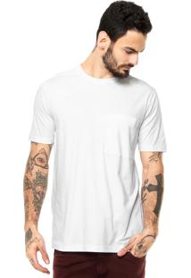 Camiseta Manga Curta West Coast Bolso Branca