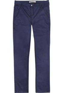 Calça Masculina Em Jeans Skinny Índigo Hering