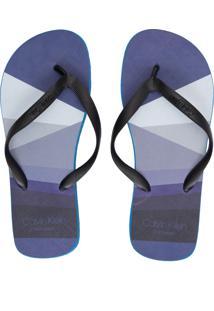 Chinelo Masculino Ckj Swim Básico - Azul