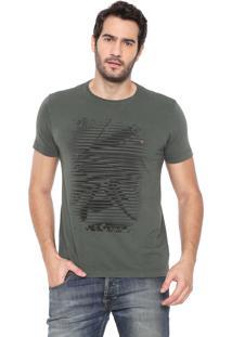 Camiseta Aramis Orgânica Verde