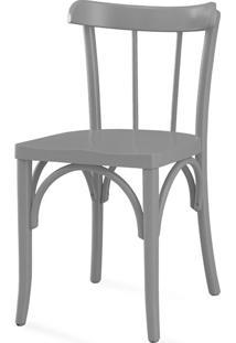 Cadeira Para Cozinha Justine Laca Cinza Concreto - 43X47,5X78,5 Cm