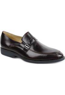 Sapato Social Side Gore Polo State - Masculino-Vermelho