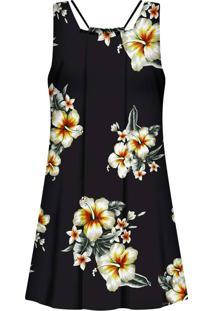 Vestido Estampado Com Tiras Vintage - Lez A Lez