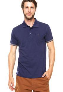 Camisa Polo Sommer Lisa Azul
