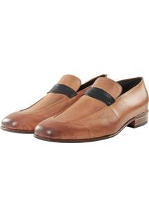 Sapato Casual Sapatos Elisa Marchi Loafer Lugano Bege