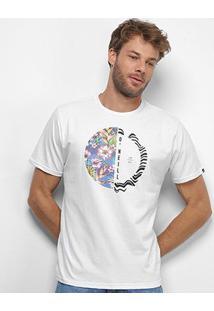 Camiseta O'Neill Recorte Floral Masculina - Masculino