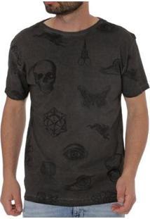 Camiseta Energy Masculina - Masculino-Cinza