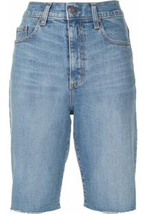 Nobody Denim Bermuda Jeans Frankie - Azul