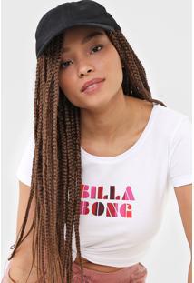 Camiseta Billabong Sol Stripes Branca - Kanui